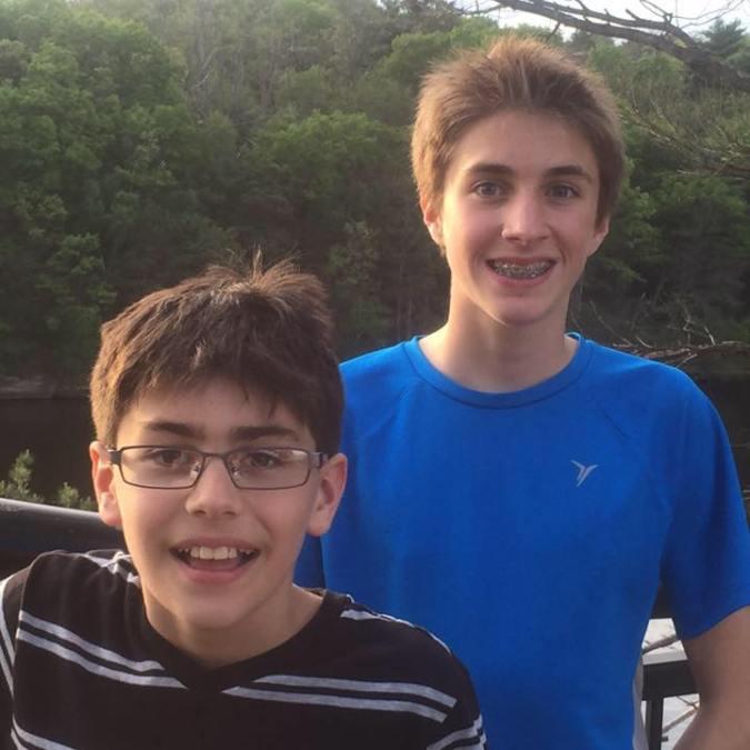 boys at 9 and 12