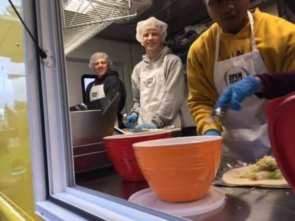 open table volunteers
