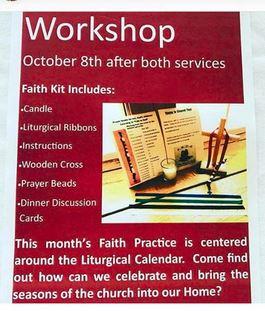 Faith Kit Workshop